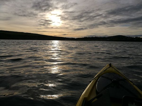 Aberdeenshire From Kayak Cloud - Sky Reflection Environment Portsoy Portsoy Bay Live For The Story
