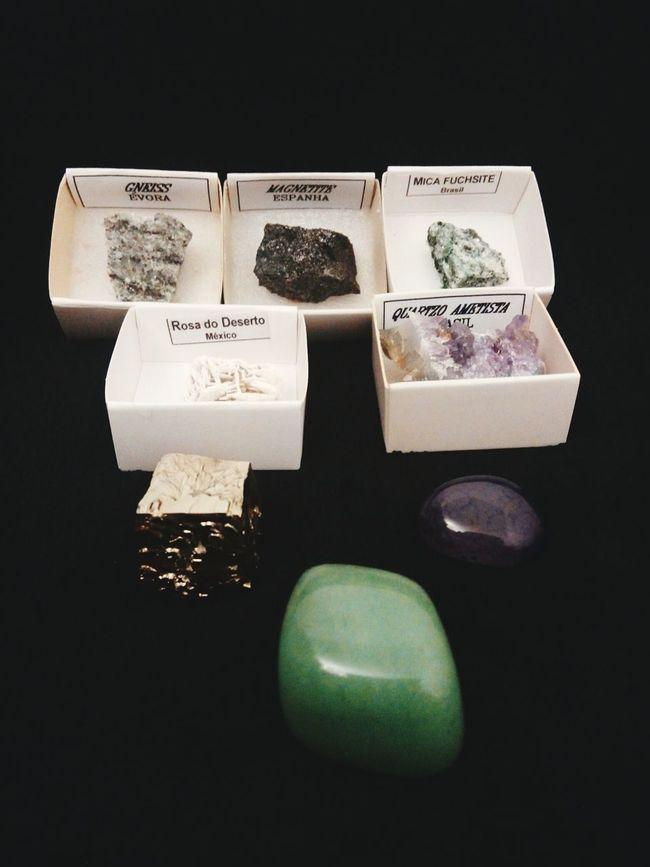 Memories Stone Color Palette Minerals Mineral Geology Texture Yellow Beauty In Nature Nature Illuminated Love Green Multi Colored Magical Life Black Epic No People Coleccion Mineralogy Mineral Collection Rock Rocks Group Of Objects