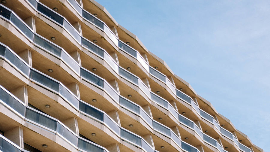 Apparel Appartment Architecture Belgium In A Row Modern No People Outdoors Seaside Symmetry First Eyeem Photo EyeEmNewHere