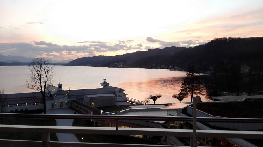 A really beautiful austrian see (wörthersee) Sunset No People Day Water EyeEmNewHere