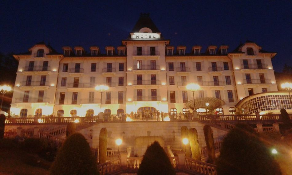 Palace Hotel Cocktail Graduation Afterwork Friends Reunion New Life Begins By Night Menthon Annecy