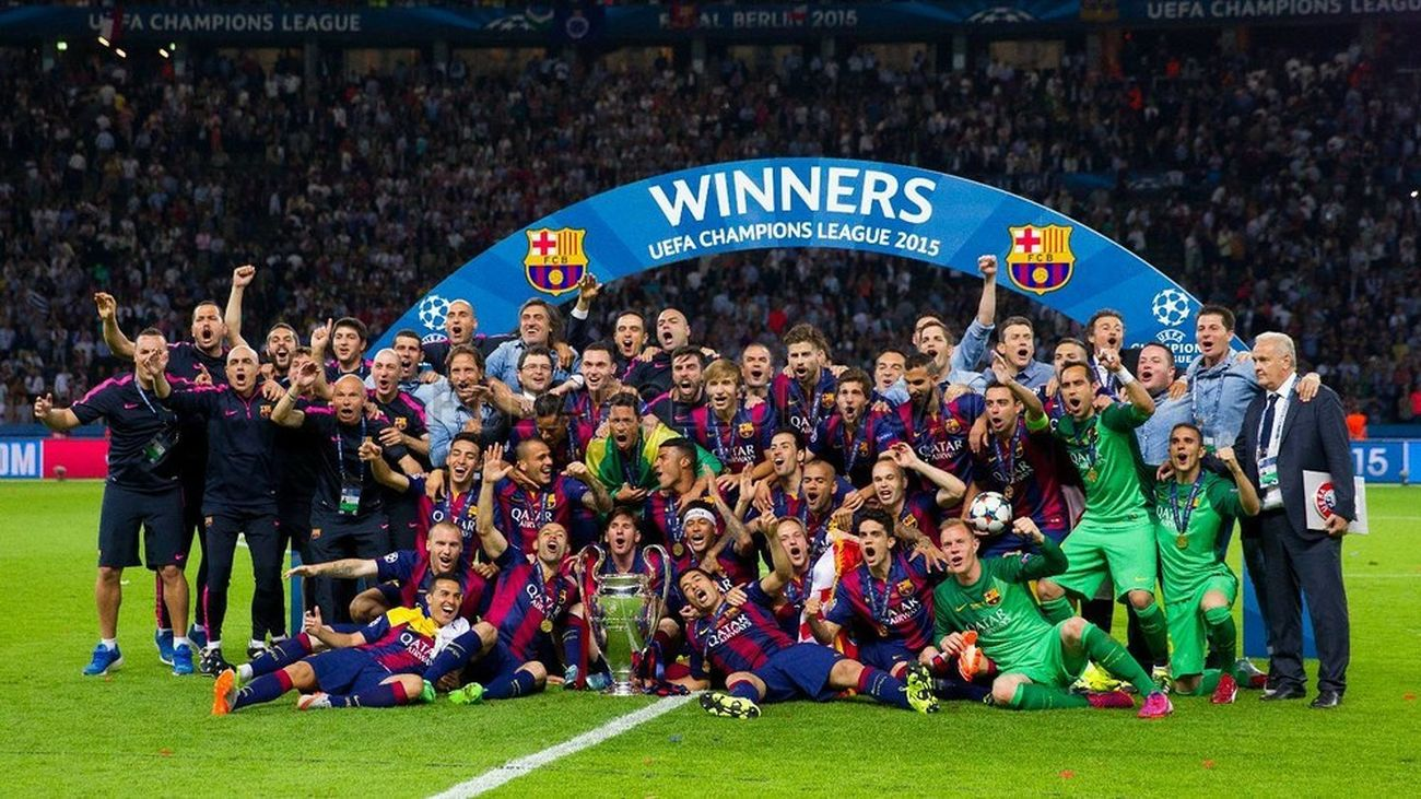 My big love ❤ FCBarcelona  TRIPL3T 2015  🏆 🏆 🏆