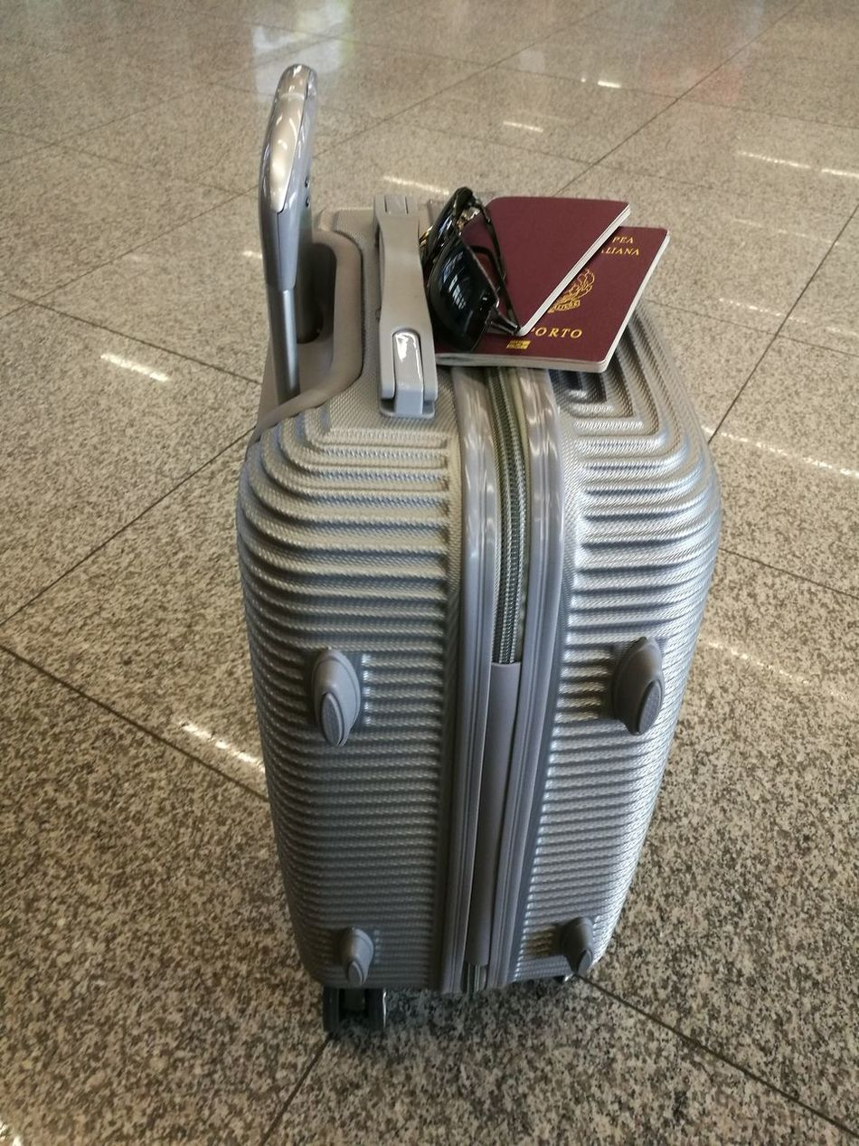 Airport Bag Departure Holiday Luggage Passport Station Sunglasses Terminal Trip Trolley