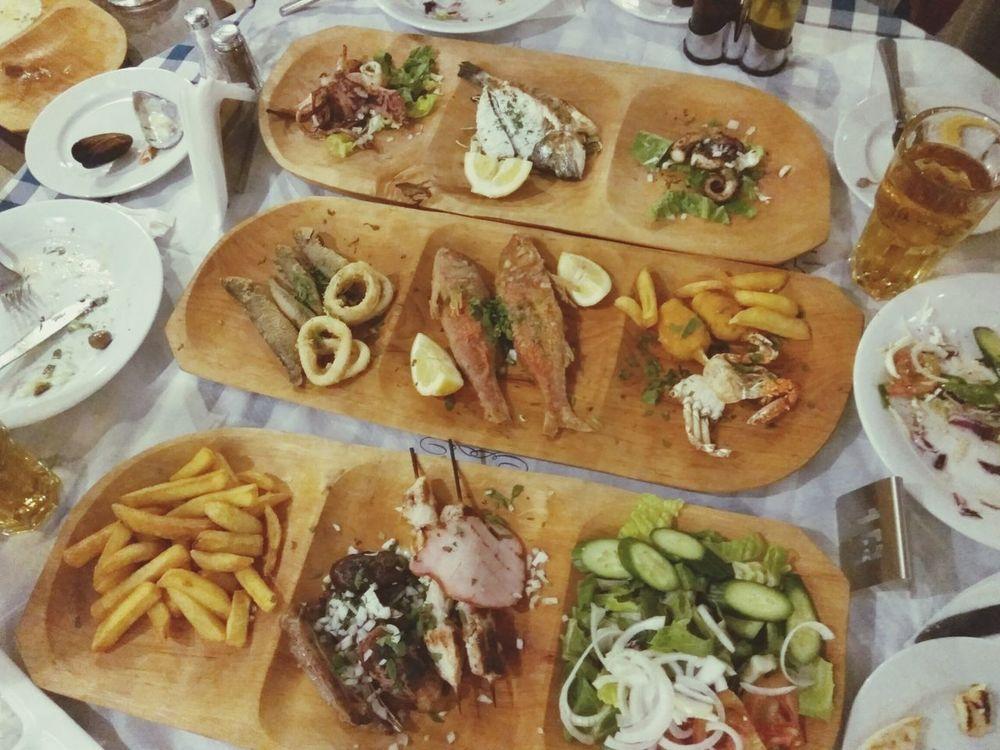 Meze, Cyprus Meze Cyprus No People Food Indoors  Food And Drink Table Freshness Seafood Evening кипр Средиземное море средиземноморье Еда мезе мясо мяснаятарелка ресторан  Restaurant