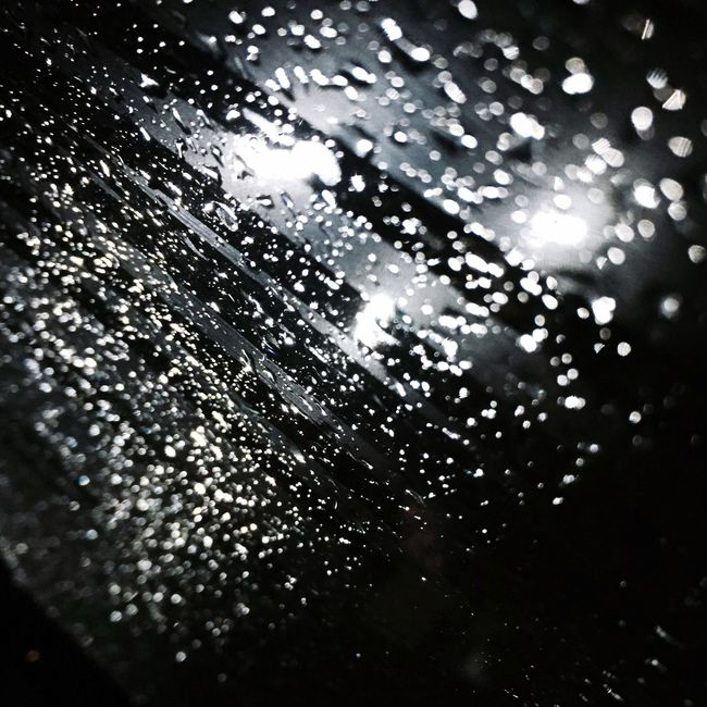 Rain Wetwindow Rainymood Night Raindrops Light Window