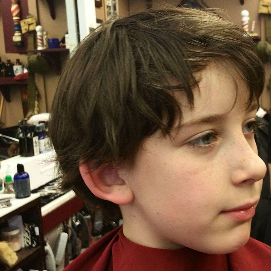 Getting ready for a fresh cut Modernmalebarbershop Bestbarbers Barber Mysoniscuterthanyours Sellersville