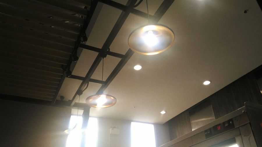 Indoors  Ceiling Low Angle View Lighting Equipment Illuminated No People Architecture Day
