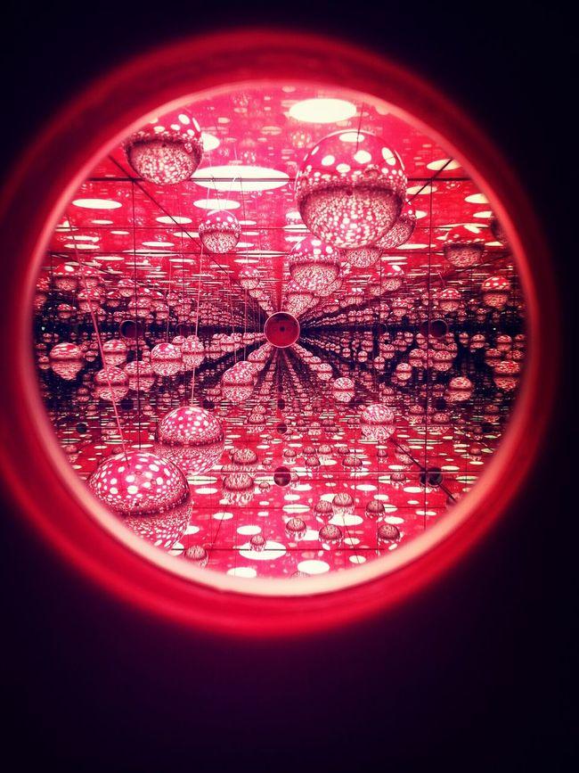 예술의 전당 Kusama Yayoi A Dream I Dream Art Exhibition Seoul,Korea