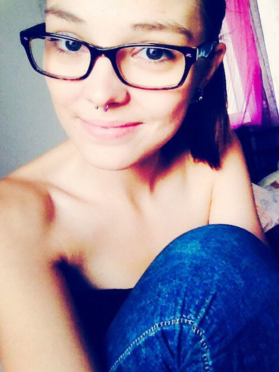 Love ♥ Smile#tunnel#septum