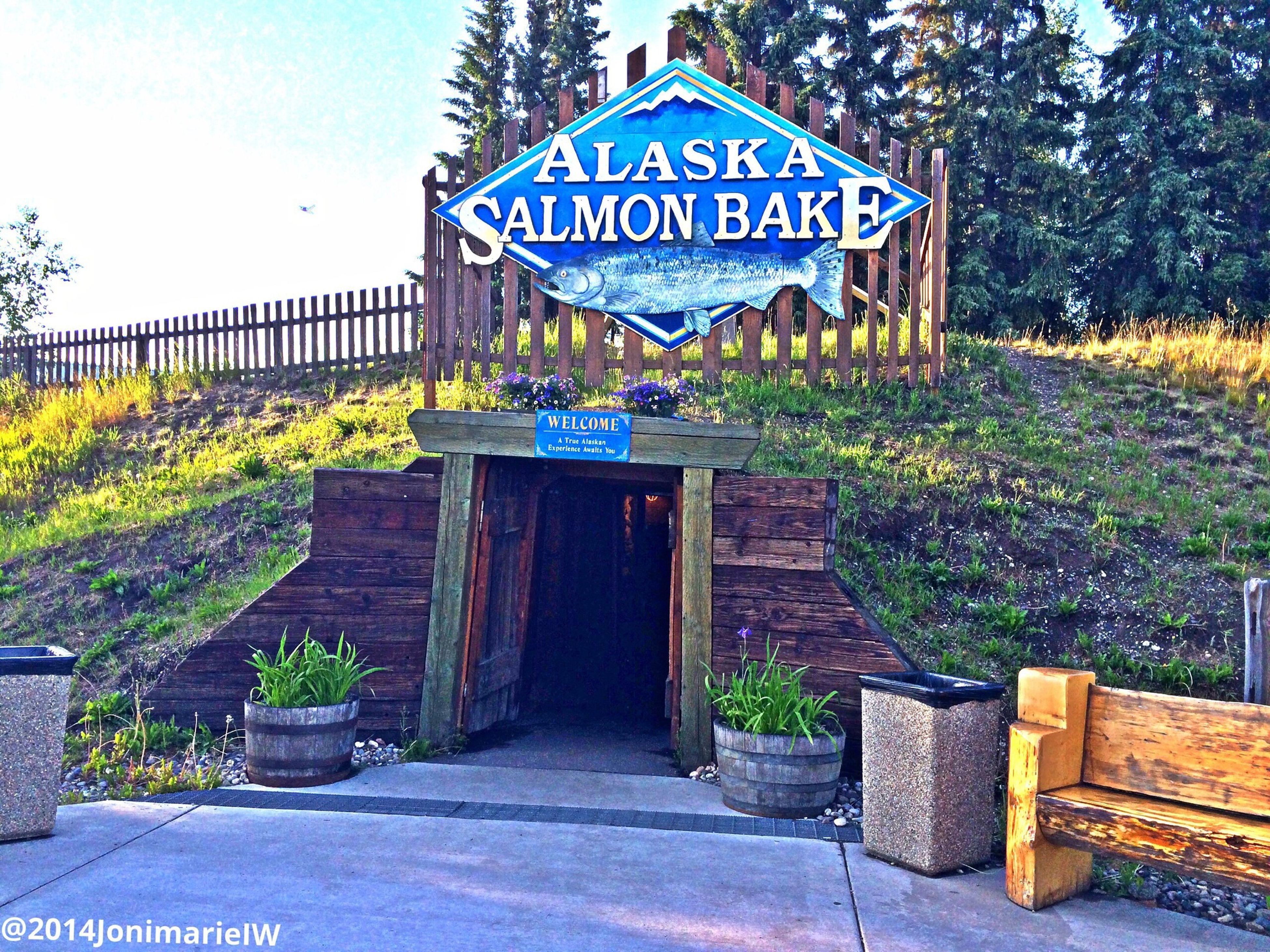 Salmon Bake Enjoying Life Alaska Hanging Out