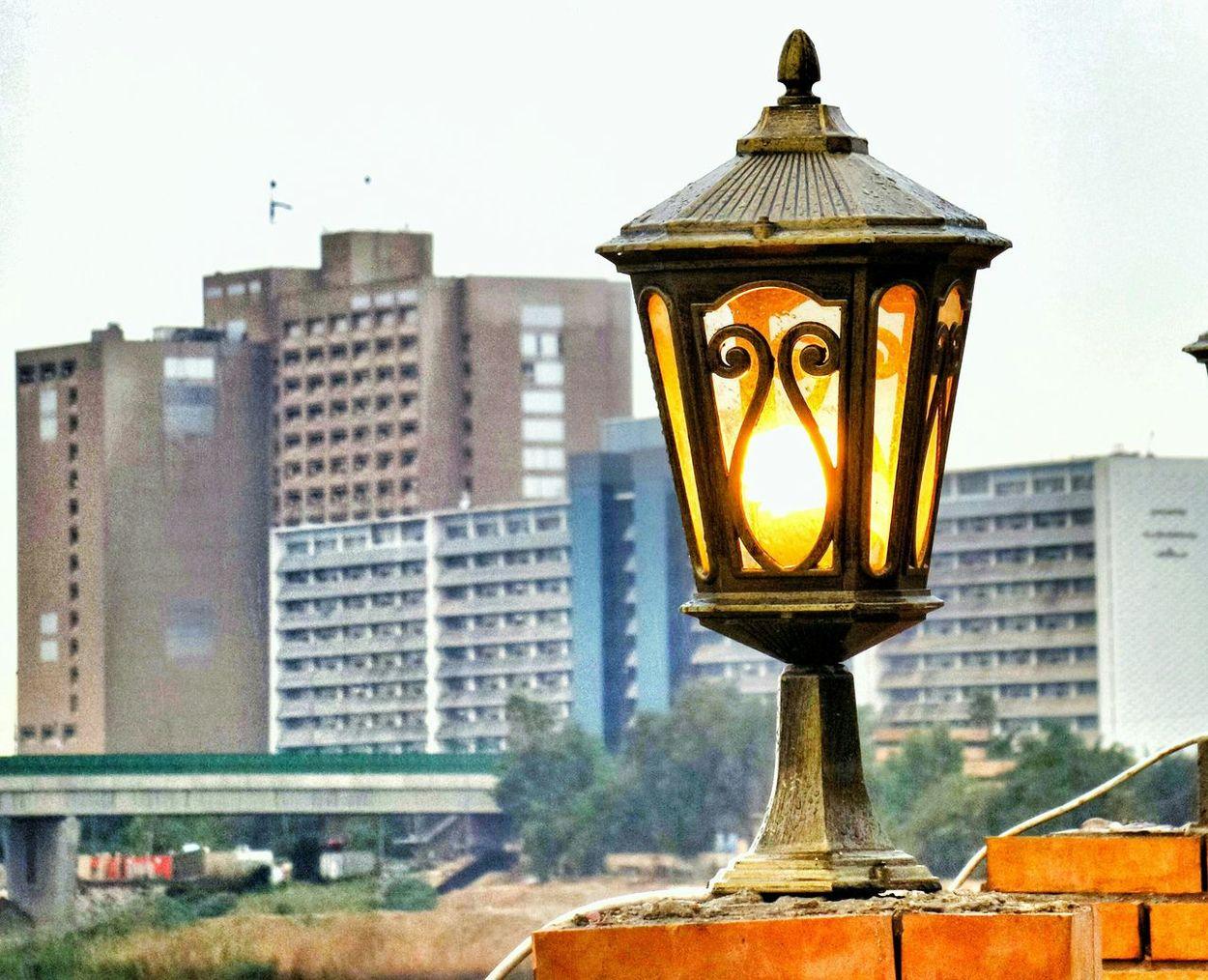 Iraq . Baghdad Medical City Hospital Alqushla Almutanabi Light Lamp