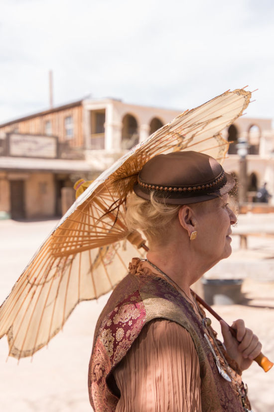 Never too old.Confidence  Convention Cosplay EyeEm Best Shots Grandmother Happiness Hat Holding Leisure Activity Lifestyles Myperspective Old Oldtimey Outdoor Parasol Photo Portrait Real People Side View Standing Steam Punk Tucson Arizona  Waist Up Wild Wild West Steampunk Convention 5 YoungAtHeart