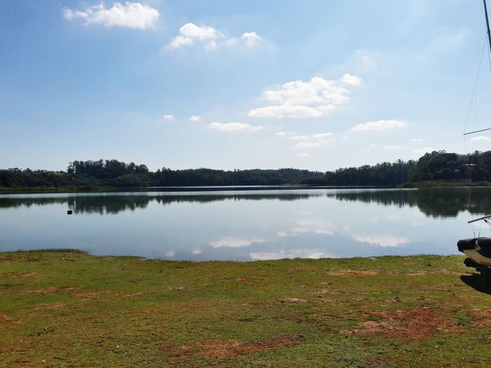 Reflection Lake Water Nature Tranquility Beauty In Nature Outdoors Sky No People Day