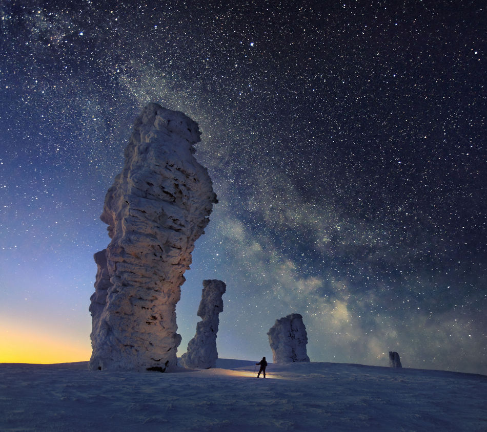 Beautiful stock photos of galaxy,  Astronomy,  Beauty In Nature,  Cliff,  Cold Temperature
