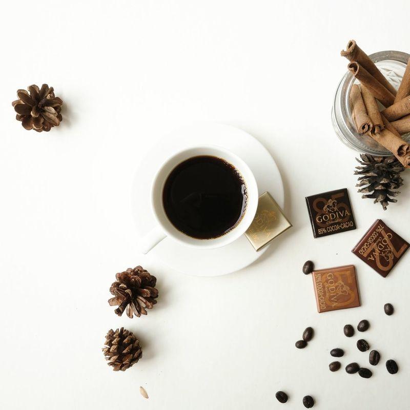 Coffee Chocolate Godiva Autunm