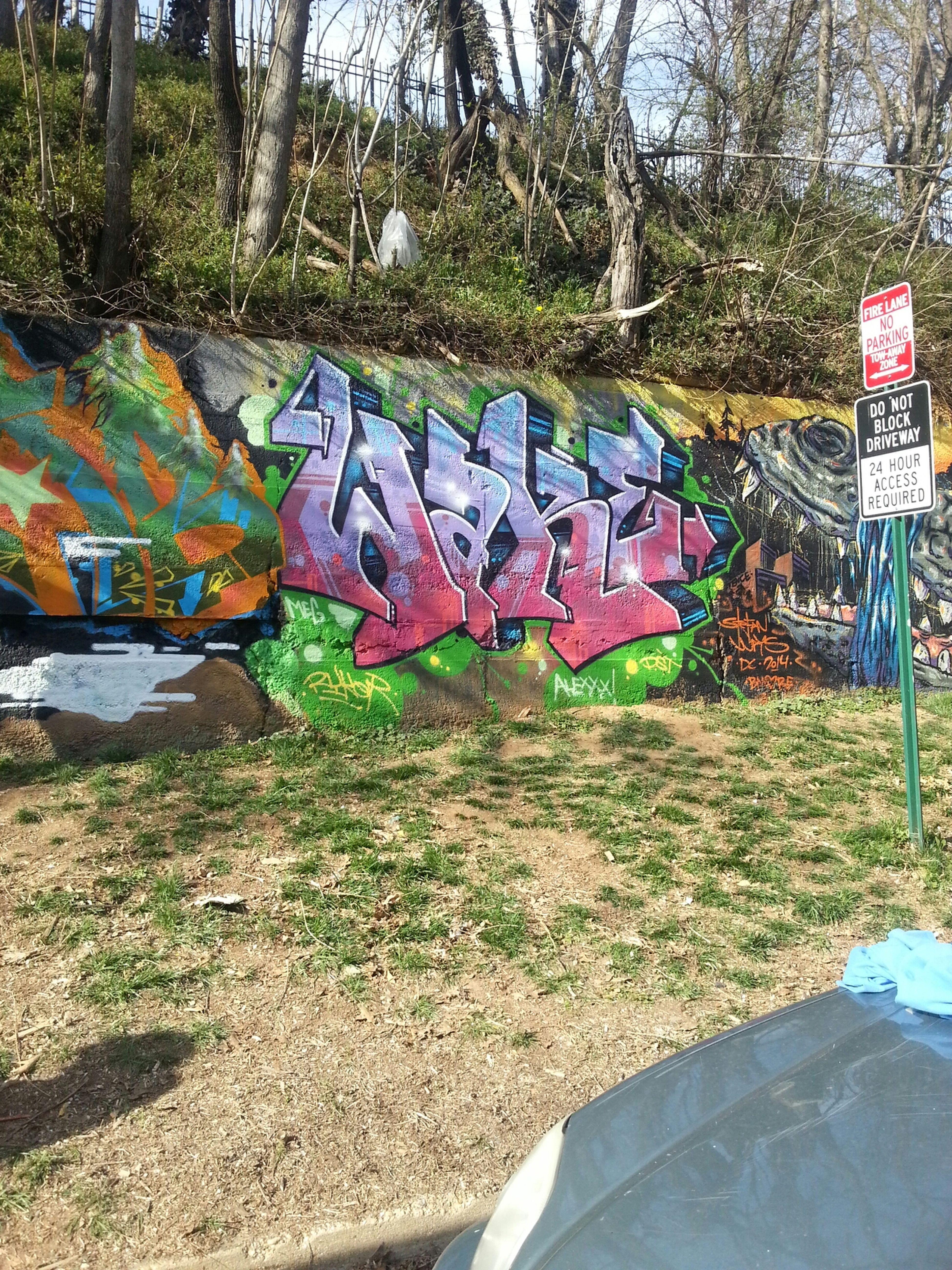 Street Art Funky Grafitti Grafitti