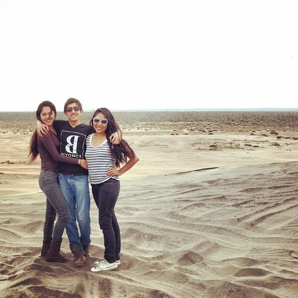 Amazing day! ?? Dunas Sand Beach RISK sky view loveit sis muchfun taptap instamoment nature