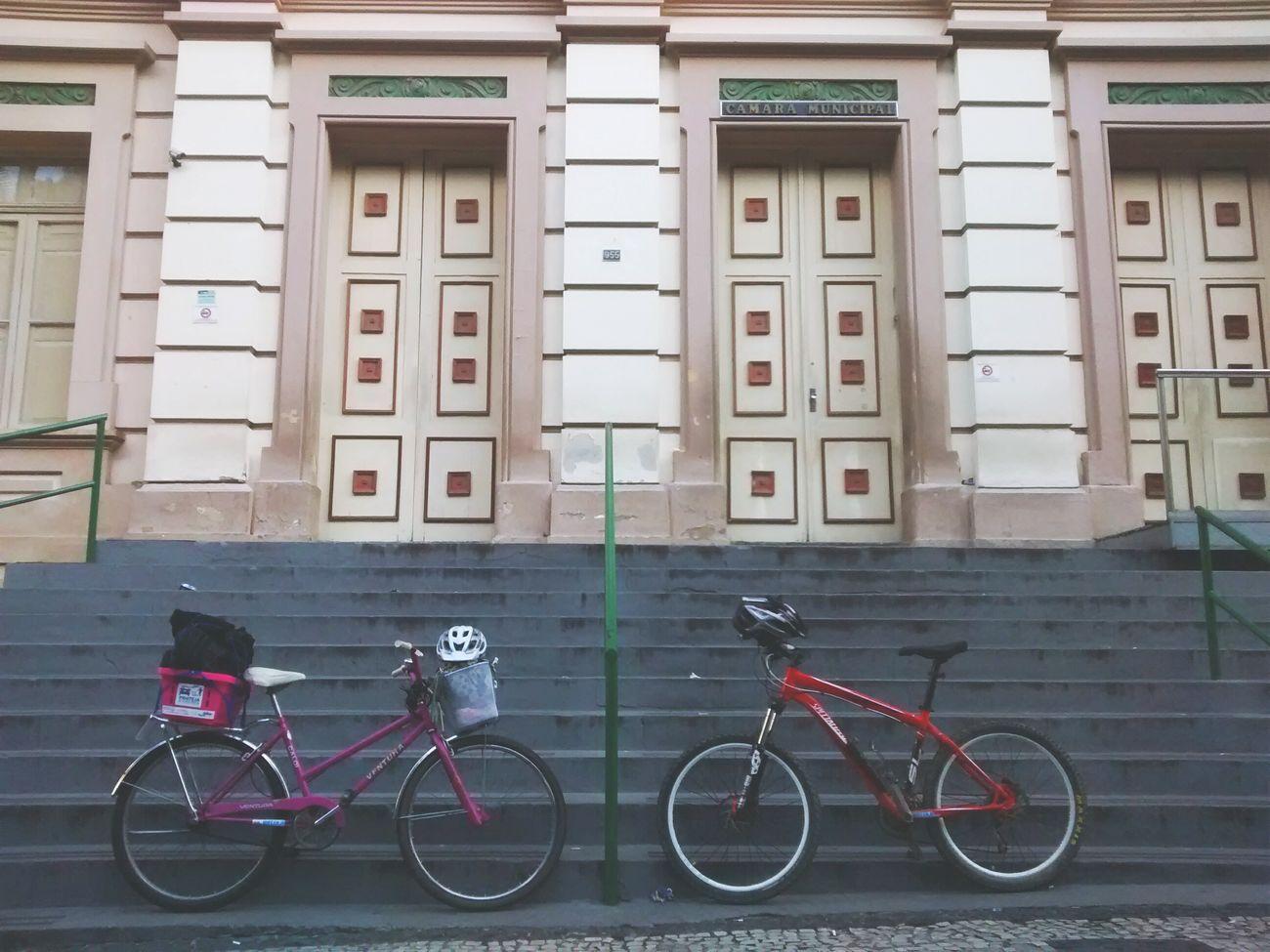 MBC representando os ciclistas de JF, dentro e fora das ruas... First Eyeem Photo