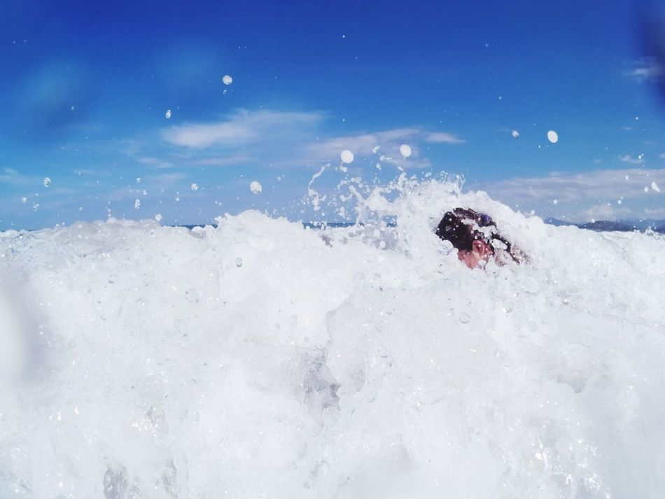 EyeEm Selects Motion Speed Splashing Sport One Man Only Water One Person Activity Adventure People Vacations Adult Sea Outdoors Day Summer Adults Only Wave Nature Eyeem Philippines Travel Travel Photography Human Body Part Beauty In Nature