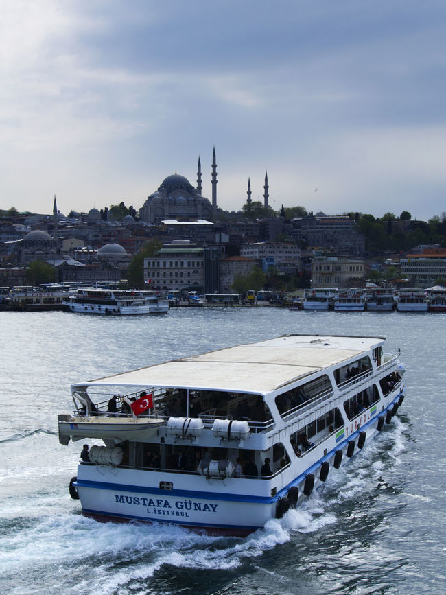 Passenger boat and The Blue Mosque Silhouette in Istanbul Architecture Blue Mosque Boat Building Exterior City Cloud - Sky Day Famous Place Ferry Ferry Istanbul Mode Of Transport Nature Nautical Vessel Outdoors Sailing Sea Sky Tourism Transportation Turkey Water Waterfront