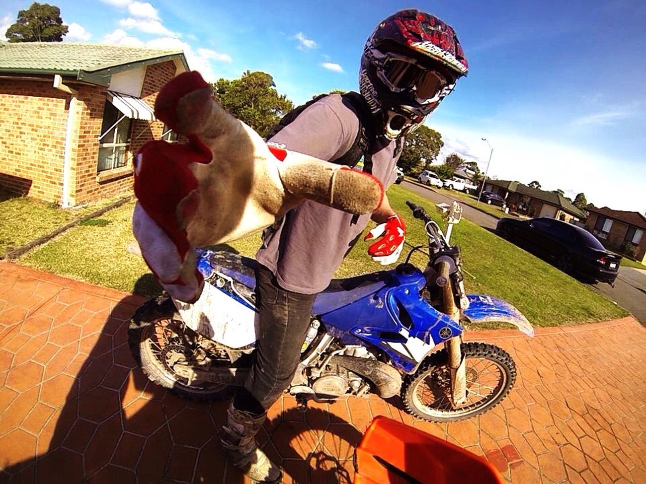Sound Of Life Brapp 💥💥 Dirt Bike Mates Soaking Up The Sun Gods Gift