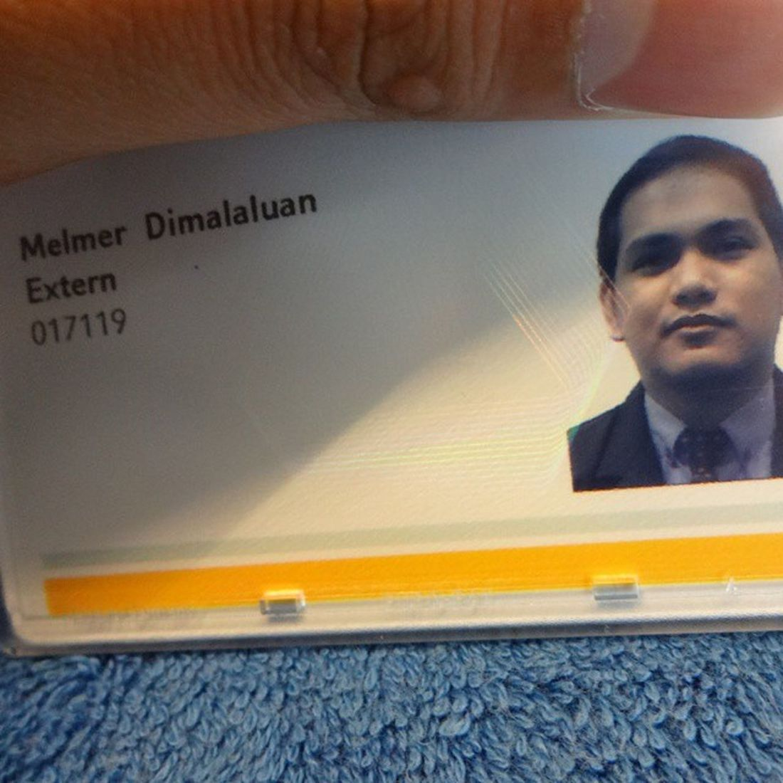 New ID, New Office, New Name?? Haha. EndOfThirdWeek