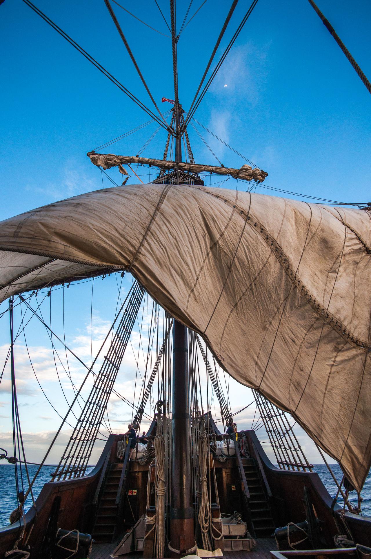 Day Galleon Mast Nautical Equipment Nautical Vessel No People Outdoors Pirate Pirates Pirateship  Rigging Sail Sailboat Sailing Sailing Ship Sailing Ship Ship Sky Tall Ship Tall Ship Transportation Travel Wood Ships XVIII. Century