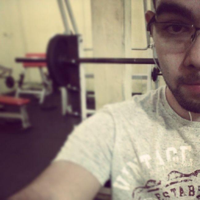 E assim começou meu dia ... Academia Gym Ralação Objetivo