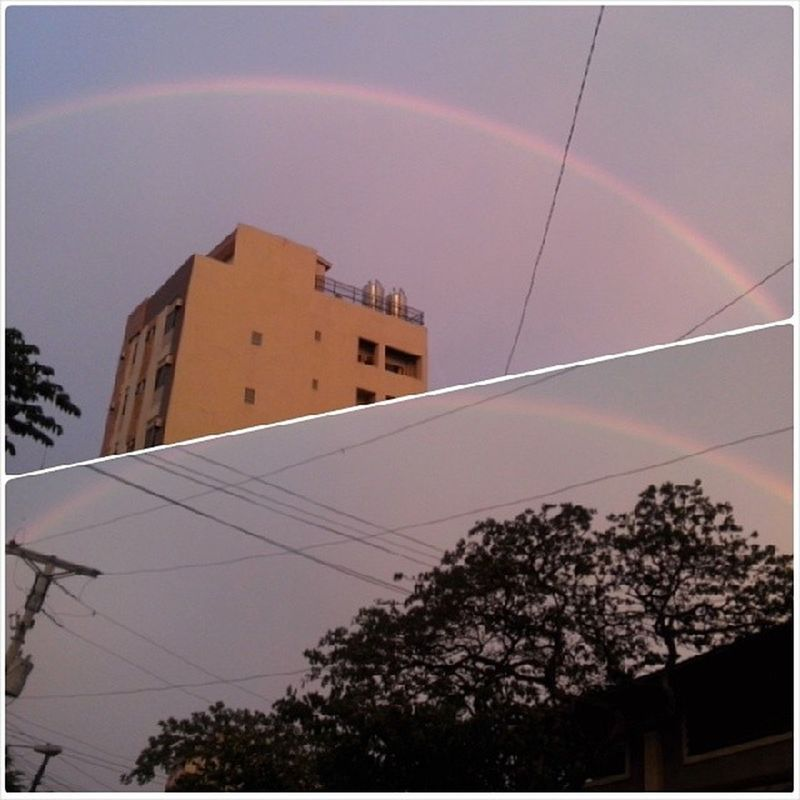 TheRe's a raiNboW aLways afteR thE sTorm.. Gloomyday  Hopeful 100happydays Day1