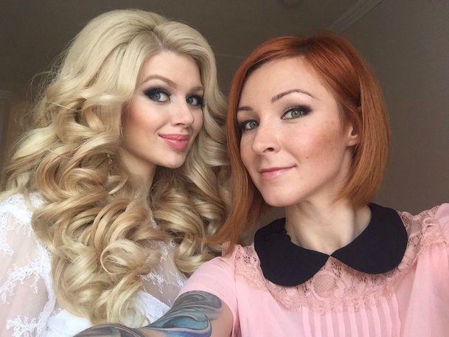 Blondie Novia2015 Weddingdetails Blondehair Hairstylist Hairdresser Happy Wedding Long Hair Weddinghair Girl