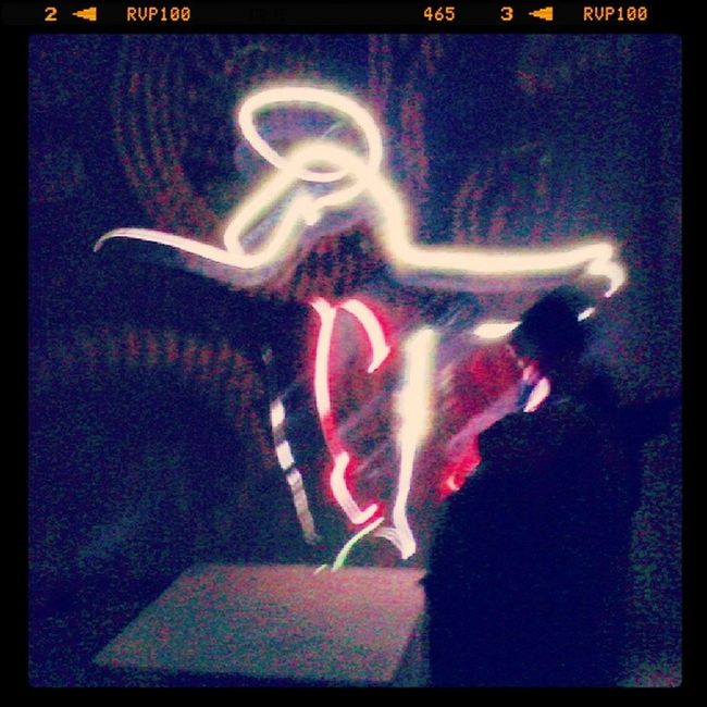 Light-painting & dance