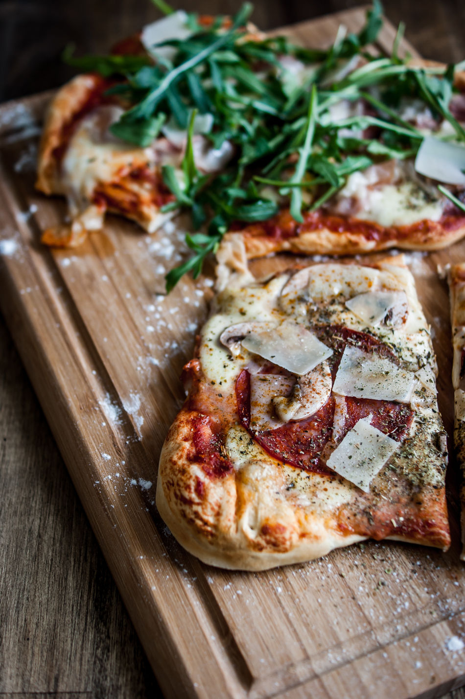 Beautiful stock photos of pizza, Berlin, Close-Up, Cutting Board, Focus On Foreground