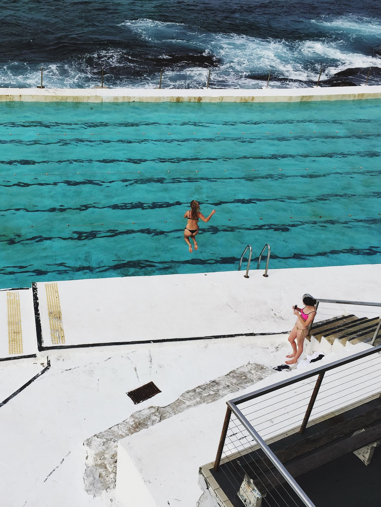 The Moment - 2015 EyeEm Awards Swimming Pool The Adventure Handbook