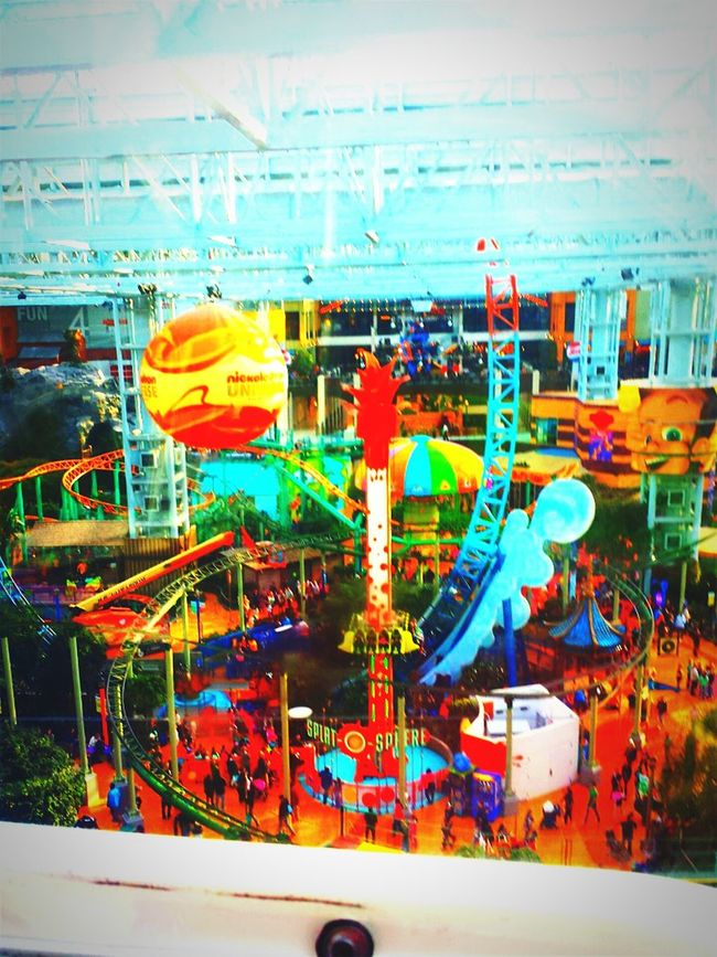 Nickeloden Universe. Minneapolis Mall Of America Theme Park Nickelodeon Galaxys4