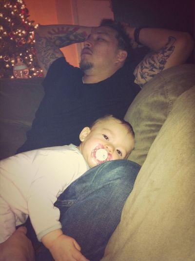 Mia Loves Her Papi! <3