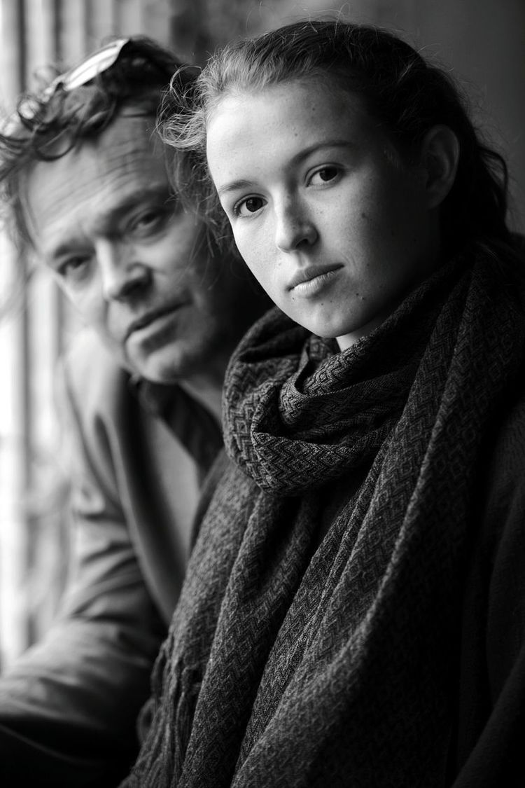 Father and daughter portrait Family Portrait Father And Daughter Blackandwhite Happy Natural Light Portrait Portrait Photography Light And Shadow Portrait Natural Light 5dmkii Canonphotography Canon Beautiful Portrait Of A Woman Portraits Head And Shoulders People Together EyeEm Best Shots Eye4photography