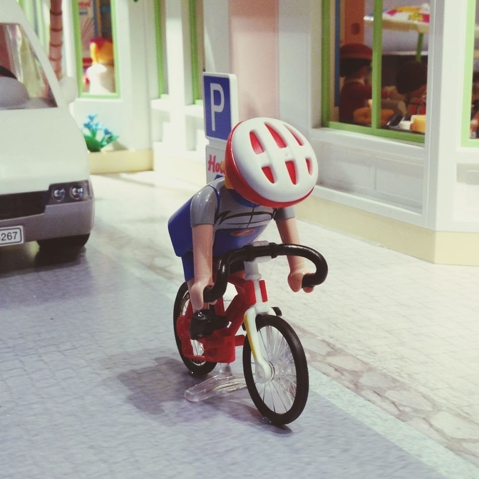 Bicycle Cyclist Toys