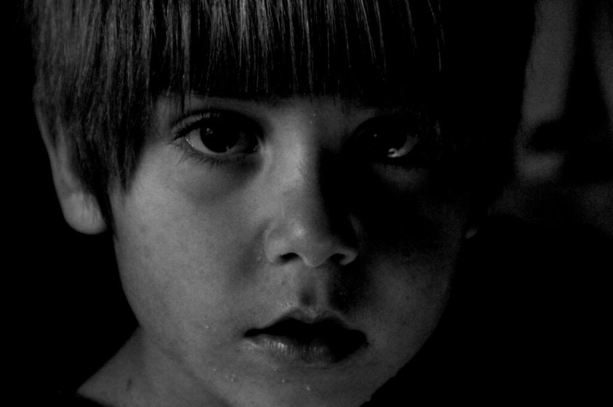 blackandwhite portrait simple photography by Angel