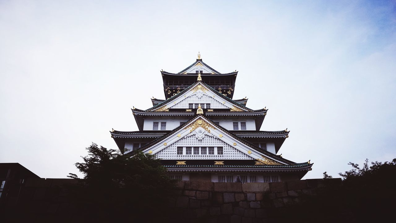 OSAKA Osaka 大阪 Osaka Castle Travel Destinations Architecture Building Exterior Travel History No People Sky Built Structure City Day Sunset People Myfavouritecity Charming It Is Where Old Meets New Historical Building Preservation Chuo-ku Azuchi-momoyama 16th Century Burdock Piling