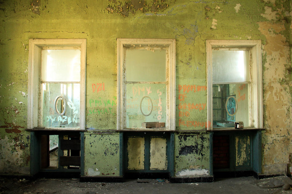 Abandned Abandoned Abandoned Buildings Abandoned Places Abandoned Station Architecture Bad Condition Building Exterior Built Structure Damaged Day House Indoors  No People Obsolete Peeling Off Weathered The Secret Spaces
