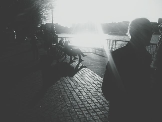 Sunshine Blackandwhite Silhouette London EyeEm Meetup
