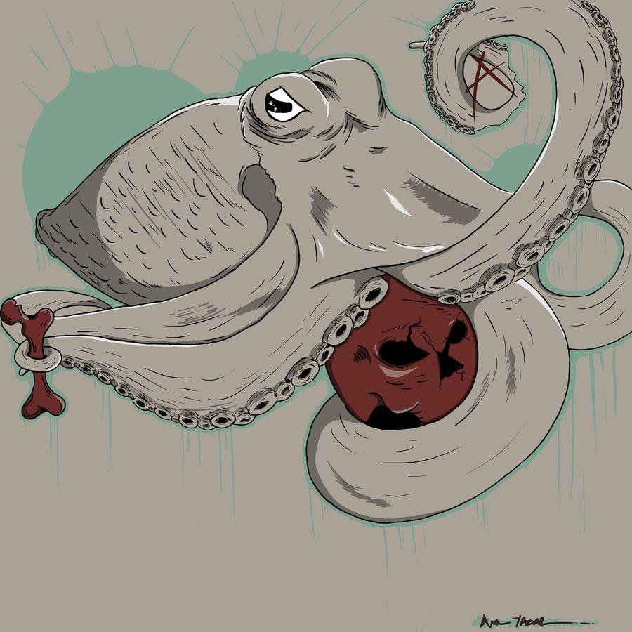 Anarko Illustration Cizgi Art