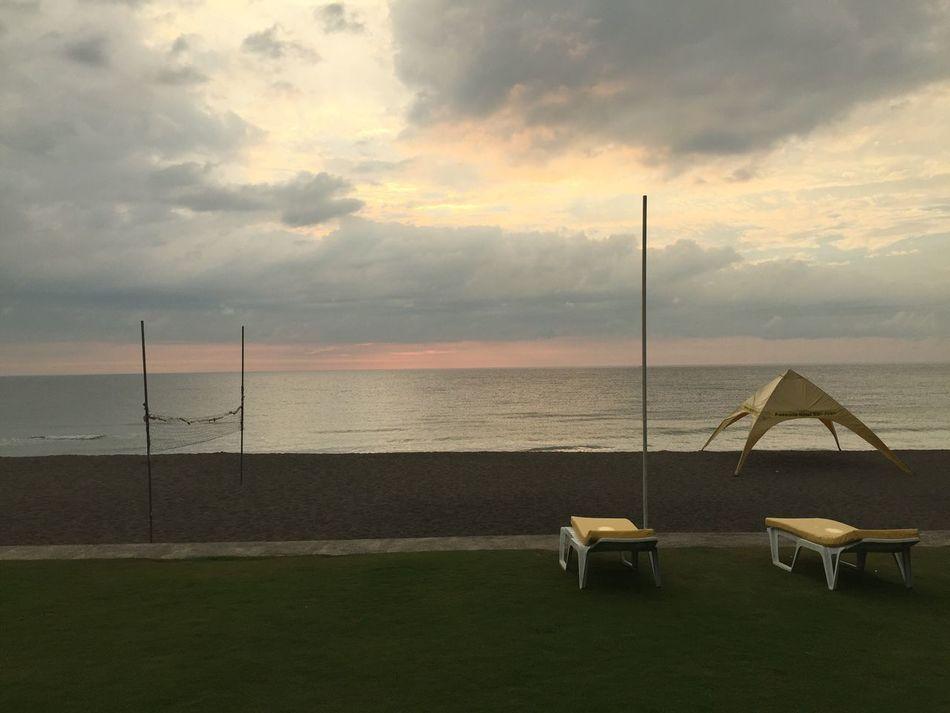 Late afternoon. Sea Beach Sky Cloud - Sky Sand IPhone 6+