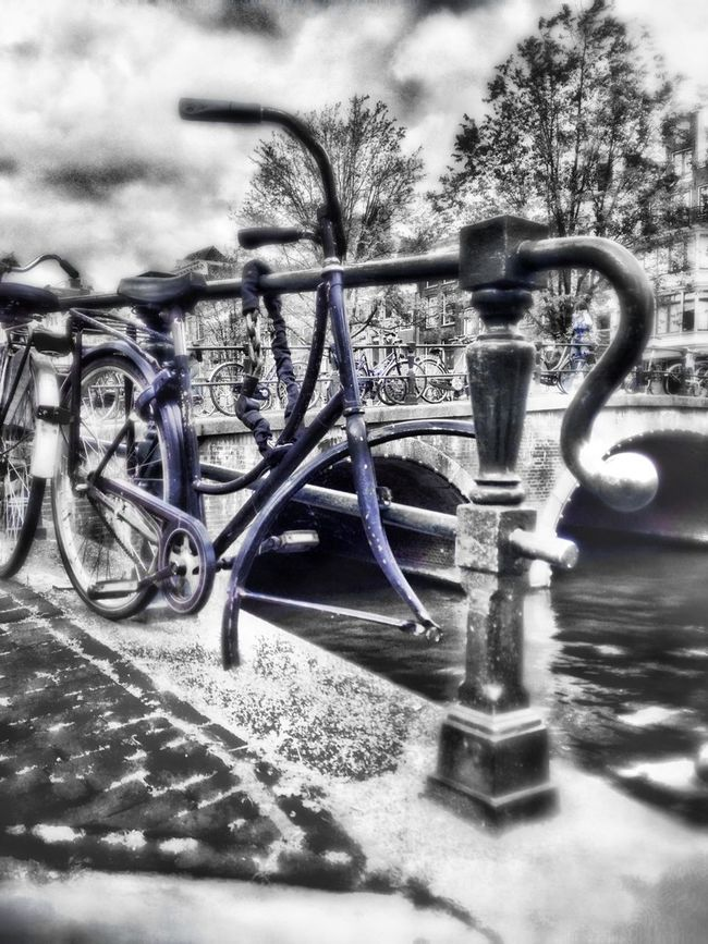 """Nº 3 . For some reason, most of this """"damaged"""" bikes are kind of bluish!! """"bike""""bike Weak"""" EyeEm Best Edits Cities_collection"""