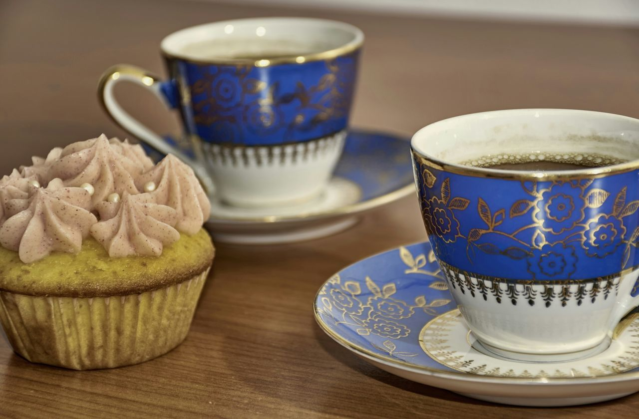 Beautiful stock photos of cupcake, Black Coffee, Blue, Cake, Coffee - Drink