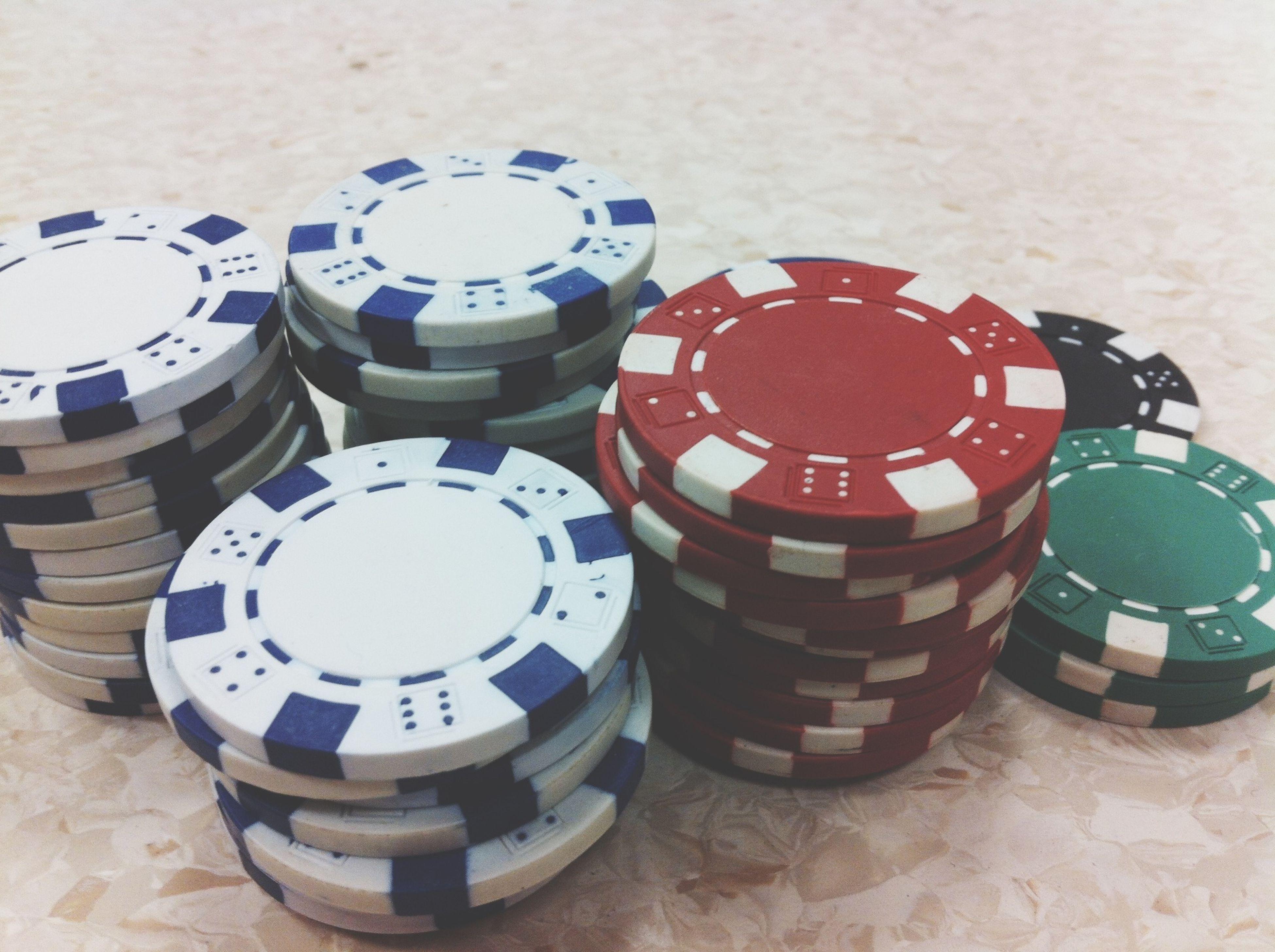 Poker Texas Hold'em Having Fun Checking In