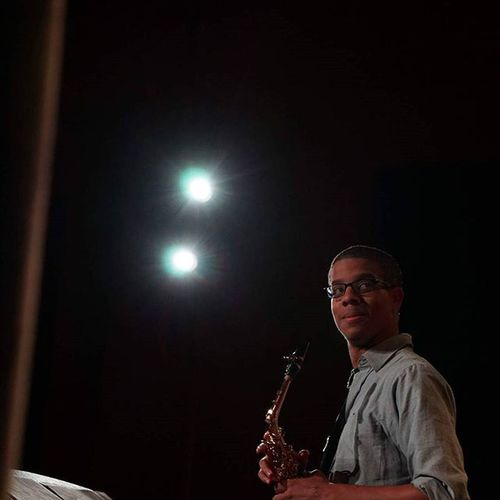 Throwback from playing on a jazz recital. Photo by @musicman490 Musicmajor Saxophone Recital