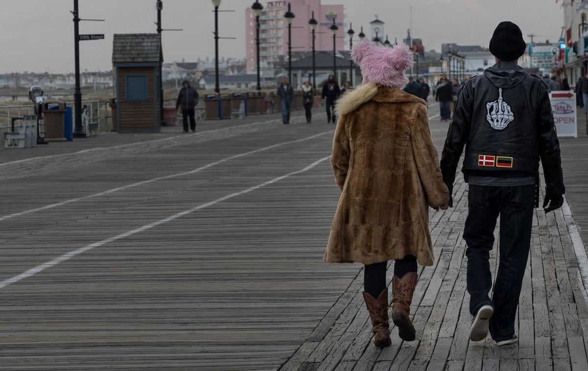 Boardwalk Jerseyshore Ocean City Nj  Oceancitynj People Peoplephotography Streetphotography Walking