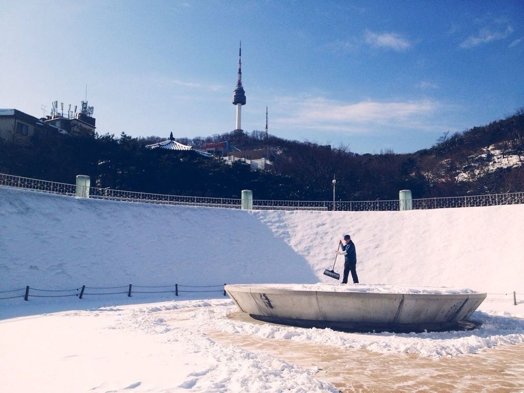 Namsangol Hanok Village #seoul #korea #winter by Ryan Cabal