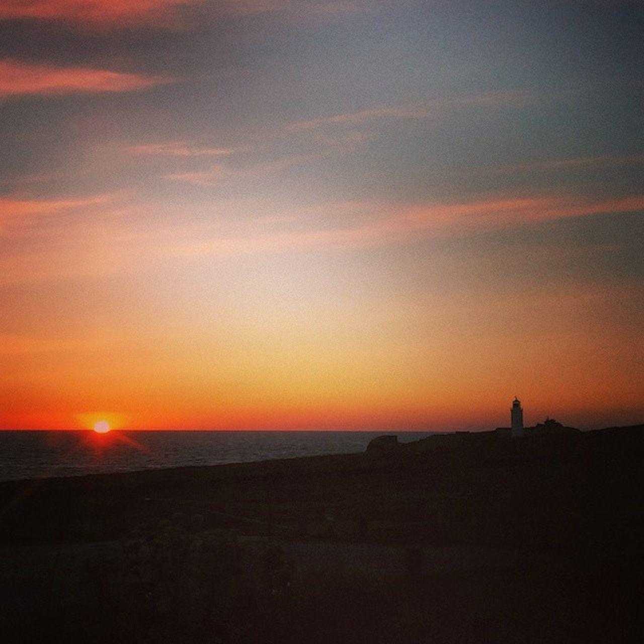 """End of the Day"" Godrevylighthouse Godrevy Sunset Cornwall Kernow Beachscene Surf Lighthouse Shadows Seashore Seascape Seascene Ocean Oceanside Oceanscene Sunsetoftheday Shotoftheday"